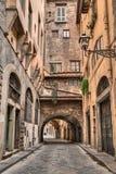 Φλωρεντία, Τοσκάνη, Ιταλία: αλέα στην παλαιά πόλη Στοκ φωτογραφία με δικαίωμα ελεύθερης χρήσης