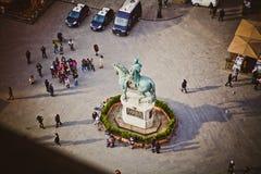 Φλωρεντία του Τζιαμπολόνια Signoria Cosimo στοκ φωτογραφία με δικαίωμα ελεύθερης χρήσης