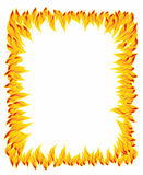 Φλόγα πυρκαγιάς, σχέδιο πυρκαγιάς απεικόνιση αποθεμάτων