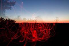 Φλόγα σχεδίων Στοκ φωτογραφίες με δικαίωμα ελεύθερης χρήσης