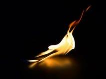 Φλόγα. Στοκ Εικόνα