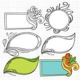 Φλόγα Doodle Στοκ Εικόνες