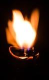 φλόγα s κεριών Στοκ Εικόνες
