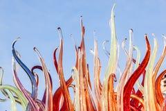 Φλόγες γυαλιού Στοκ φωτογραφίες με δικαίωμα ελεύθερης χρήσης