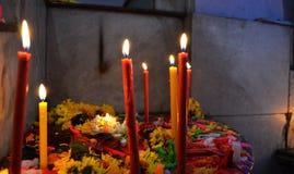 Φλόγες της πίστης Στοκ Εικόνες
