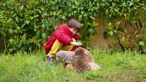 Χάδι παιδιών το κουτάβι της Shar του Pei