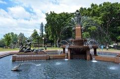 Χάιντ Παρκ Σίδνεϊ Νότια Νέα Ουαλία Αυστραλία Στοκ Φωτογραφία