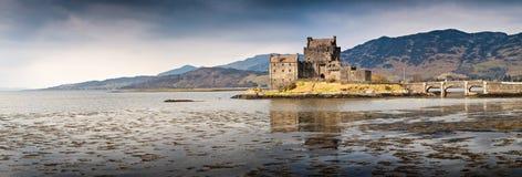 Χάιλαντς της Σκωτίας Eilean Donan Castle Στοκ φωτογραφία με δικαίωμα ελεύθερης χρήσης