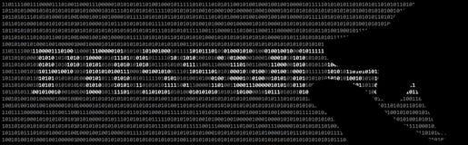 Χάκερ και κωδικός πρόσβασης Στοκ Εικόνες