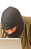 χάκερ υπολογιστών Στοκ Φωτογραφίες