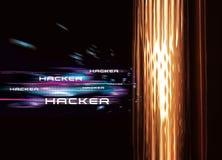 Χάκερ υπολογιστών Στοκ εικόνα με δικαίωμα ελεύθερης χρήσης