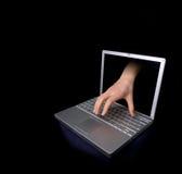 χάκερ Στοκ φωτογραφία με δικαίωμα ελεύθερης χρήσης