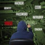 χάκερ στοκ εικόνες
