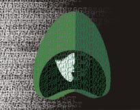 χάκερ Στοκ εικόνες με δικαίωμα ελεύθερης χρήσης