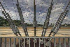 χάλυβας γεφυρών αψίδων π&omicron Στοκ εικόνα με δικαίωμα ελεύθερης χρήσης