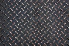 Χάλυβας πιάτων διαμαντιών Στοκ φωτογραφία με δικαίωμα ελεύθερης χρήσης