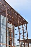 χάλυβας πλαισίου οικοδόμησης κτηρίου Στοκ φωτογραφία με δικαίωμα ελεύθερης χρήσης