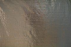 Χάλυβας που συσκευάζεται με το φύλλο αλουμινίου Ενισχυμένη ταινία φύλλων αλουμινίου Εκλεκτής ποιότητας δημιουργικό υπόβαθρο στοκ εικόνα με δικαίωμα ελεύθερης χρήσης