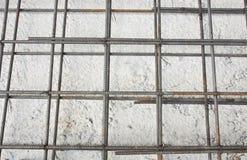 χάλυβας ράβδων πλέγματος Στοκ εικόνα με δικαίωμα ελεύθερης χρήσης