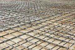 χάλυβας ράβδων πλέγματος Στοκ Εικόνα