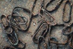 Χάλυβας σκουριάς ενίσχυσης για το σωρό Στοκ φωτογραφίες με δικαίωμα ελεύθερης χρήσης