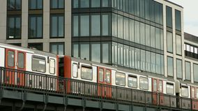 Χάμπουργκερ Hochbahn απόθεμα βίντεο