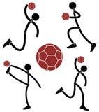χάντμπολ Στοκ εικόνα με δικαίωμα ελεύθερης χρήσης