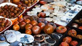 Χάντρες νεφριτών Στοκ Εικόνα