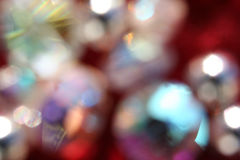 χάντρες που θολώνονται Στοκ Φωτογραφίες