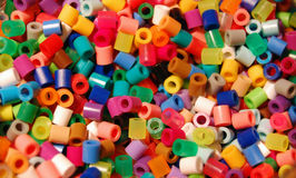 χάντρες που χρωματίζοντα&iot Στοκ φωτογραφία με δικαίωμα ελεύθερης χρήσης