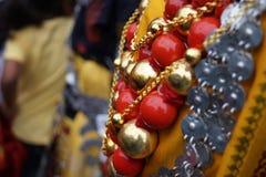 Χάντρες Khasi παραδοσιακό Στοκ φωτογραφίες με δικαίωμα ελεύθερης χρήσης