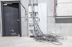 Χάος καλωδίων Στοκ Εικόνες