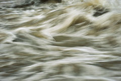 Χάος στην επιφάνεια νερού στοκ εικόνες με δικαίωμα ελεύθερης χρήσης