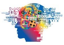 Χάος στο κεφάλι, σύνδρομο ουδετεροποίησης απεικόνιση αποθεμάτων