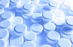 χάπια ανασκόπησης Στοκ Φωτογραφίες