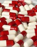 χάπια ανασκόπησης Στοκ εικόνα με δικαίωμα ελεύθερης χρήσης