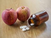 Χάπια βιταμίνης C Στοκ εικόνες με δικαίωμα ελεύθερης χρήσης