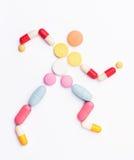 Χάπια βιταμινών Στοκ φωτογραφία με δικαίωμα ελεύθερης χρήσης