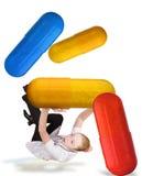 χάπια γιατρών στοκ εικόνα με δικαίωμα ελεύθερης χρήσης