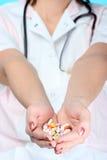 χάπια εκμετάλλευσης Στοκ Φωτογραφίες