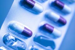 Χάπια ιατρικής πακέτων φουσκαλών Στοκ Εικόνα