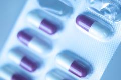 Χάπια ιατρικής πακέτων φουσκαλών Στοκ Φωτογραφίες