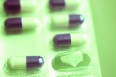 Χάπια ιατρικής πακέτων φουσκαλών Στοκ φωτογραφία με δικαίωμα ελεύθερης χρήσης