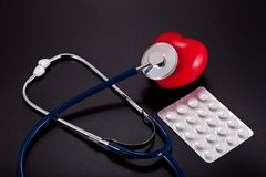 χάπια ιατρικής Στοκ Φωτογραφίες