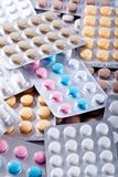 χάπια ιατρικής Στοκ φωτογραφίες με δικαίωμα ελεύθερης χρήσης