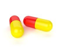 Χάπια ιατρικής ελεύθερη απεικόνιση δικαιώματος