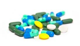 Χάπια και φάρμακα Στοκ εικόνες με δικαίωμα ελεύθερης χρήσης