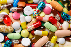 Χάπια και φάρμακα Στοκ Φωτογραφία