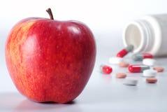 χάπια μήλων Στοκ φωτογραφίες με δικαίωμα ελεύθερης χρήσης