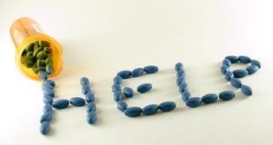 χάπια οδηγιών στοκ εικόνες